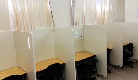 自習室完備!